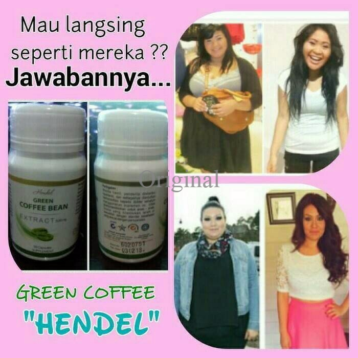 hendel exitox green coffee bean testimoni