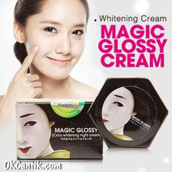 glossy night cream