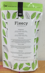 jual fleecy scrub tea