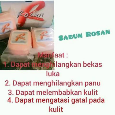 manfaat rosan cosmetic soap